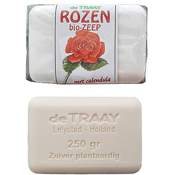 de traay - savon rose et calendula - 250g