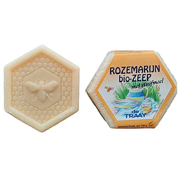 de traay - savon romarin - 100g
