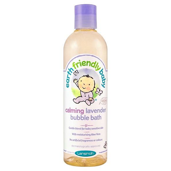 earth friendly baby - bain moussant bebe (lavender)
