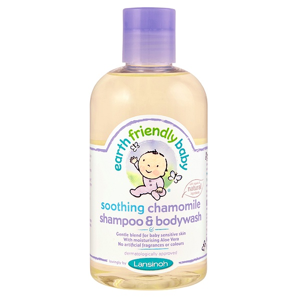 earth friendly baby - shampoing gel douche bebe (chamomile)