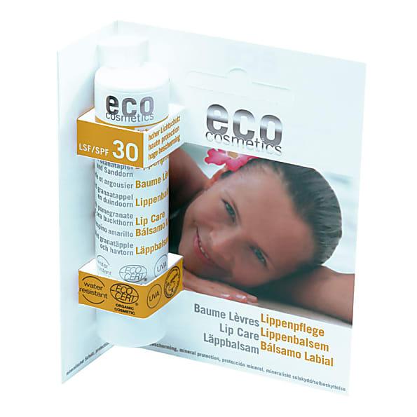 eco cosmetics - baumes levres - indice 30