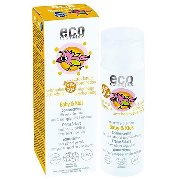 eco cosmetics - creme solaire bebe - indice 50