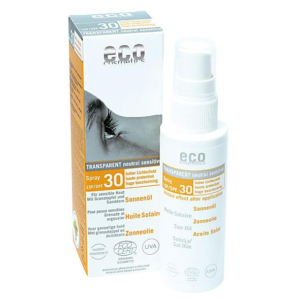 eco cosmetics - huile solaire - indice 30