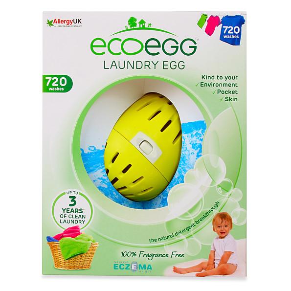 eco egg balle de lessive 720 machines (fragrance free)