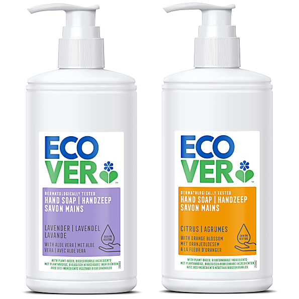 ecover - savon mains - 250ml (citron et fleur d