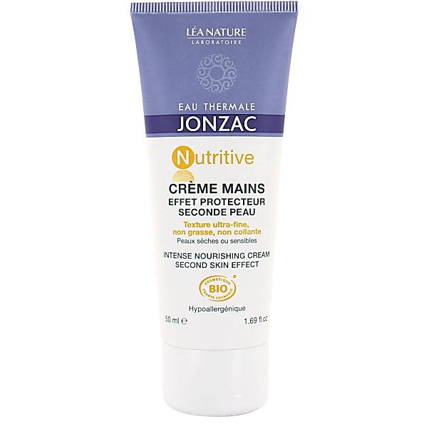 eau thermale de jonzac - creme mains effet protecteur seconde peau