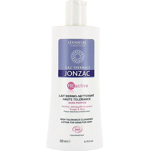 eau thermale de jonzac - lait dermo-nettoyant visage et yeux