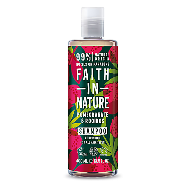faith in nature shampoing grenade & rooibos