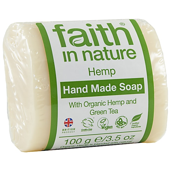 faith in nature savons vegetaux (hemp)
