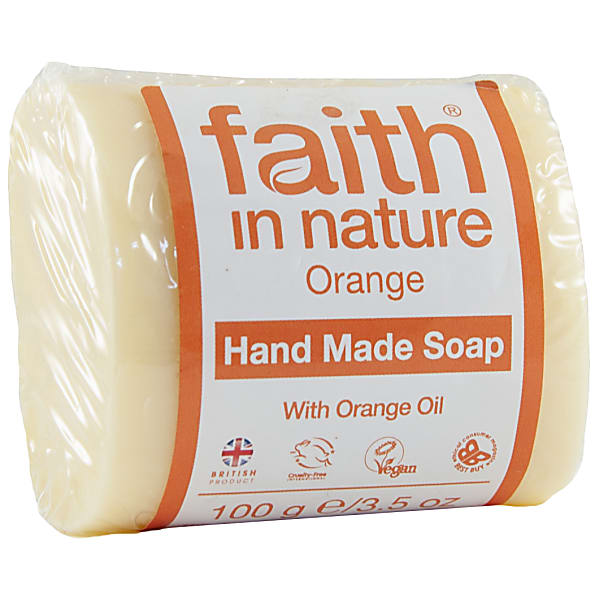 faith in nature savons vegetaux (orange)
