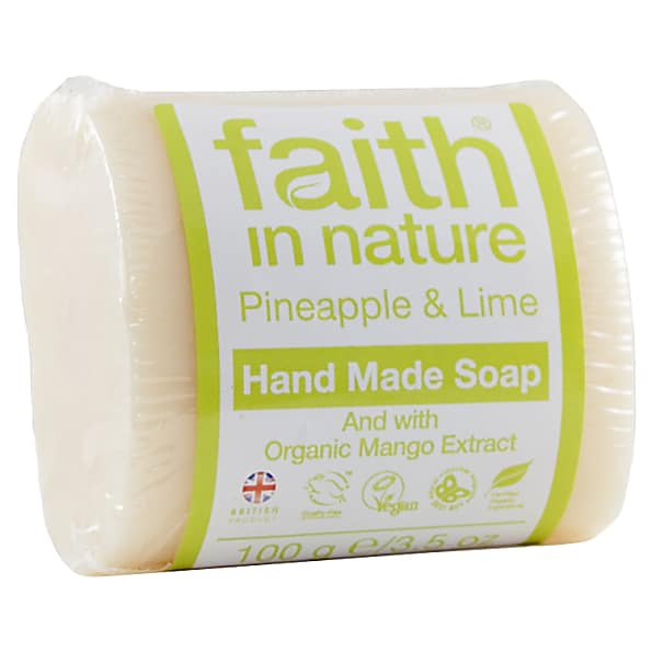 faith in nature savons vegetaux (pineapple and lime)