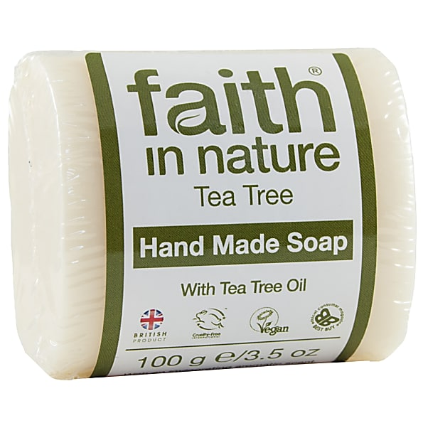 faith in nature savons vegetaux (tea tree)