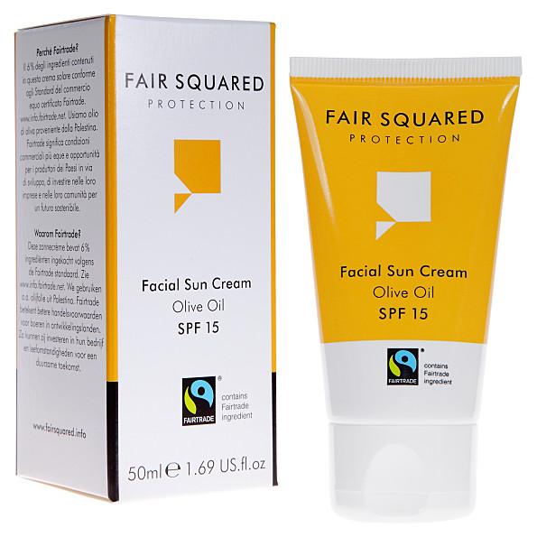 fair squared - creme soleire visage ip 15 - 50 ml
