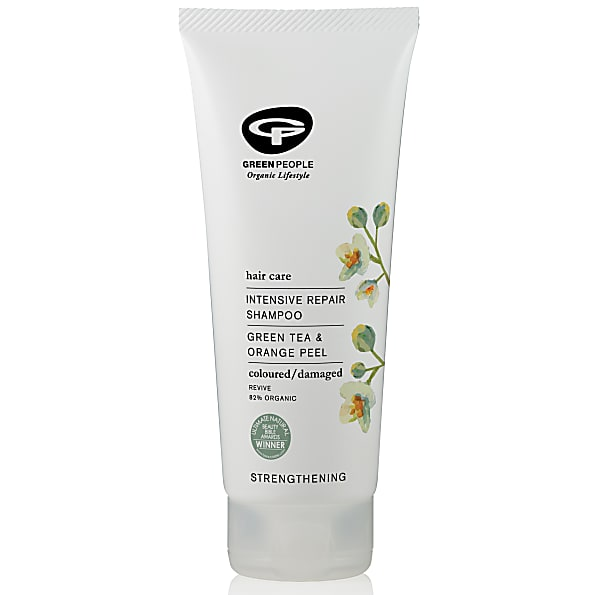 green people - shampooing soin intensif - cheveux colores, secs