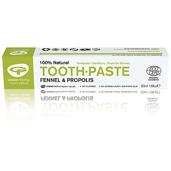 green people - dentifrice fenouil - 50ml