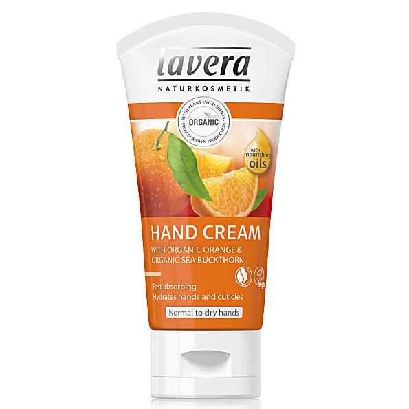 lavera body spa - creme pour les mains orange feeling