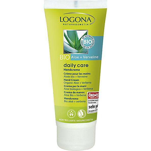 logona daily care - creme mains bio - aloe & verveine