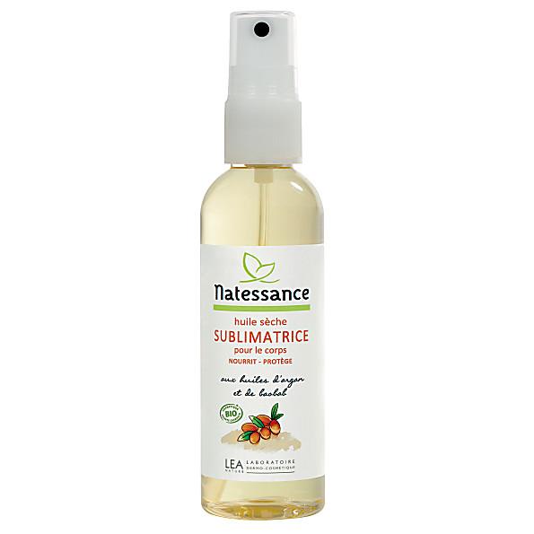 natessance - huile seche sublimatrice pour le corps attestee esr