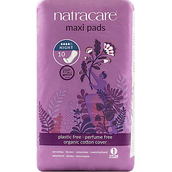 natracare - serviettes hygieniques nuit