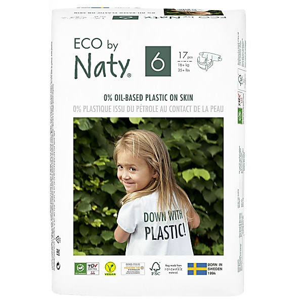 naty by nature babycare - couches : taille 6