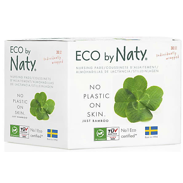 naty by nature babycare - coussinets d