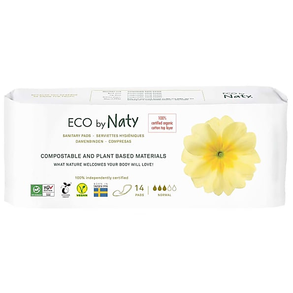 naty - serviettes hygieniques : normal