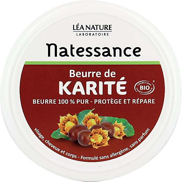 natessance - beurre de karite protecteur - 100g