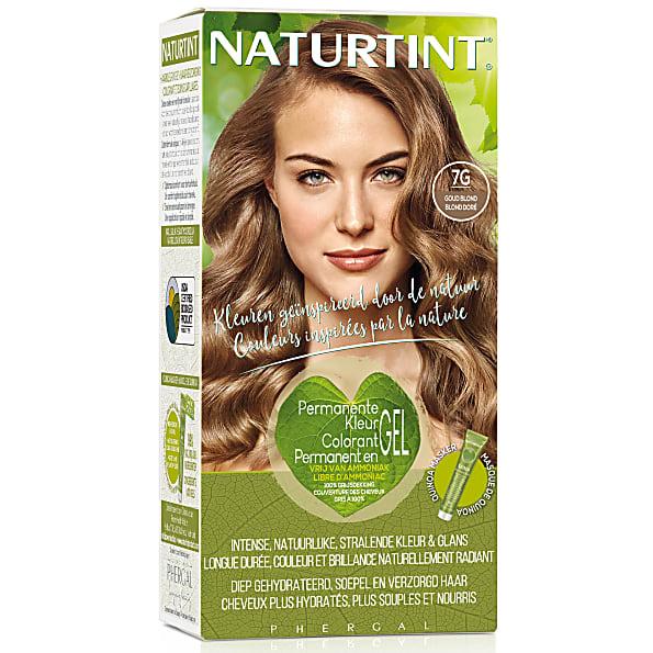 naturtint - coloration capillaire naturelle - blond dore