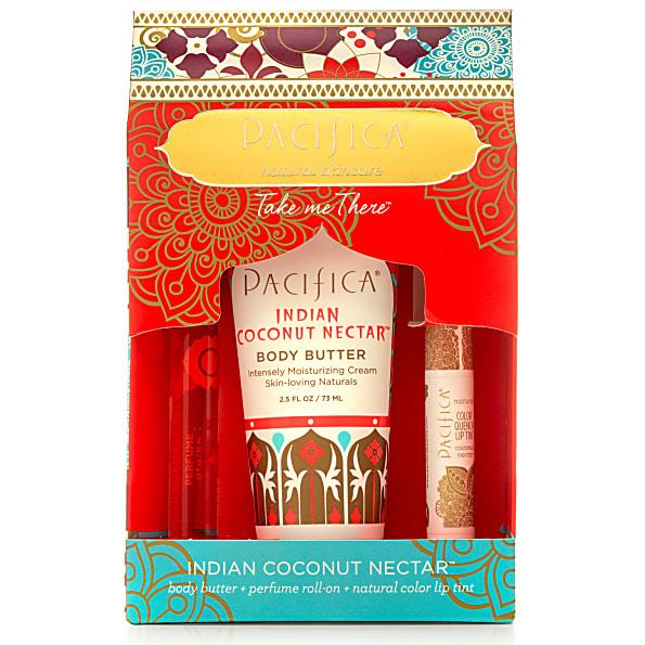 pacifica - coffret cadeau - indian coconut nectar