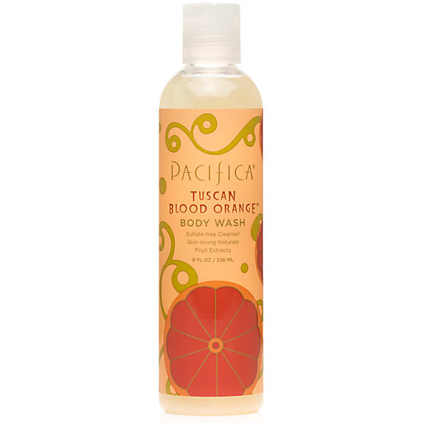 pacifica - gel douche - tuscan blood orange - 236ml