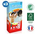 Tidoo - 3x38 Culottes d'apprentissage MAXI (T4) – 8/15kg