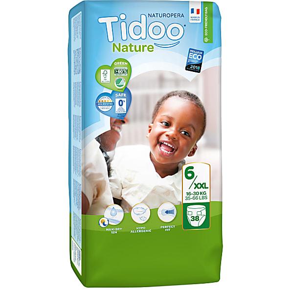 tidoo - jumbo 38 couches ecologiques xl (txl) - 16/30kg