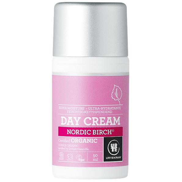 urtekram - creme de jour - bouleau - 50 ml