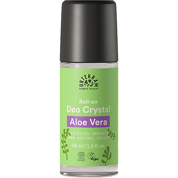 urtekram - deodorant roll-on - aloe vera - 50 ml