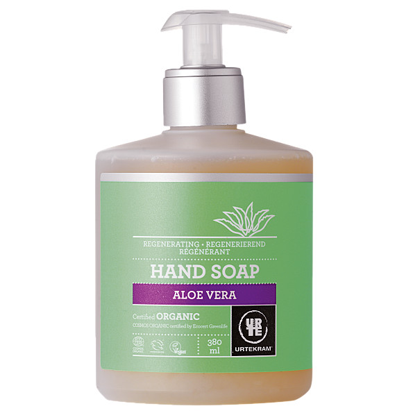 urtekram - savon liquide mains - aloe vera - 380 ml