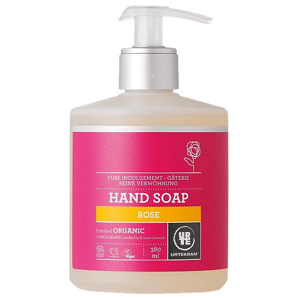 urtekram - savon liquide mains - rose - 380 ml