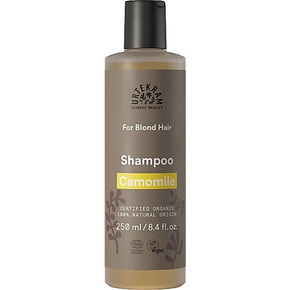 urtekram - shampooing cheveux blonds - camomille - 250 ml