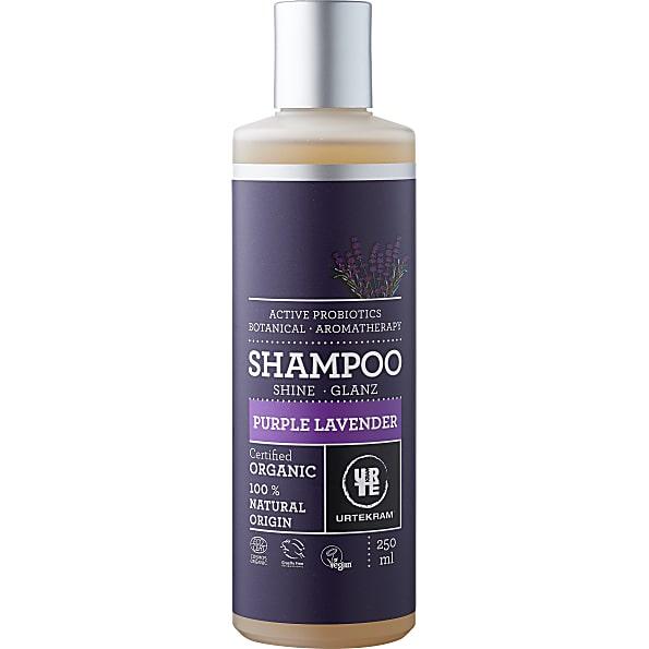 urtekram - shampoing cheveux normaux - lavande - 250 ml