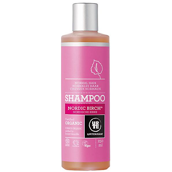 urtekram - shampoing cheveux normaux - bouleau - 250 ml