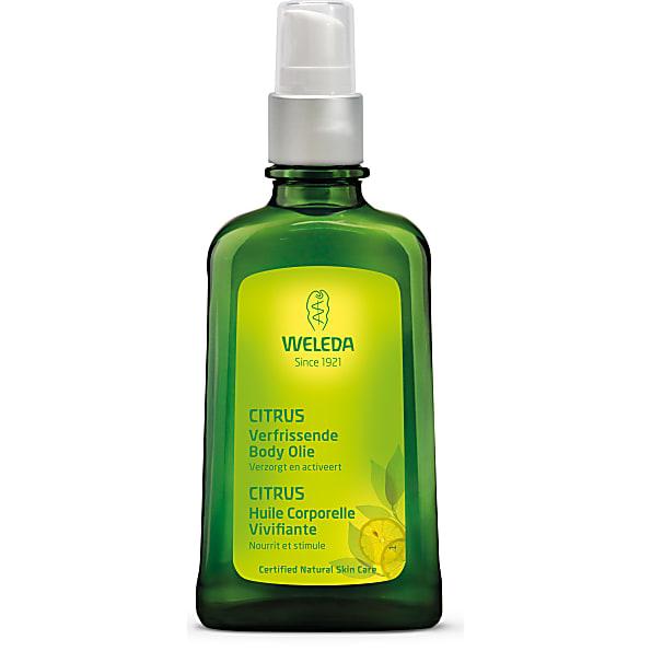 weleda - huile vivifiante au citrus