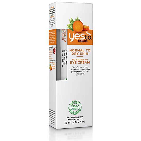yes to carrots - creme hydratante contour des yeux