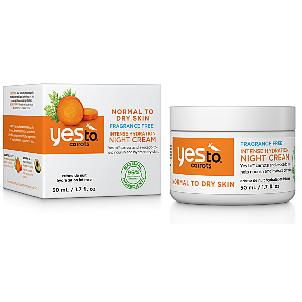 yes to carrots - creme de nuit reparatrice