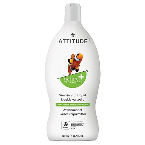 Attitude Liquide Vaisselle - Pomme Verte & Basilic