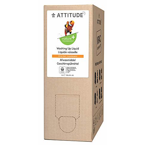 Attitude Liquide Vaisselle - Zeste d'Agrumes (4L)