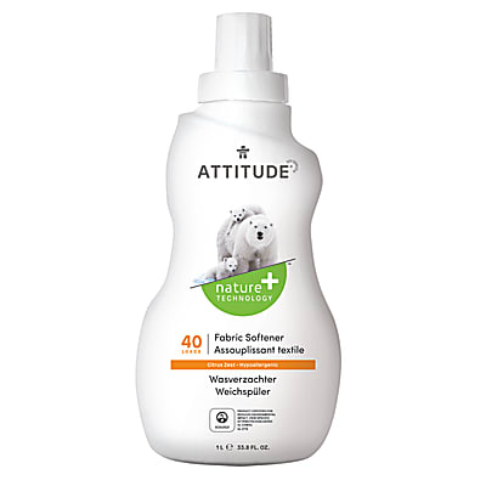Attitude Assouplissant Zeste d'agrumes (40 lavages)