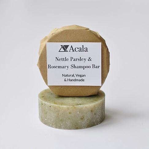 Acala Barre de Shampooing au Persil Ortie et Romarin