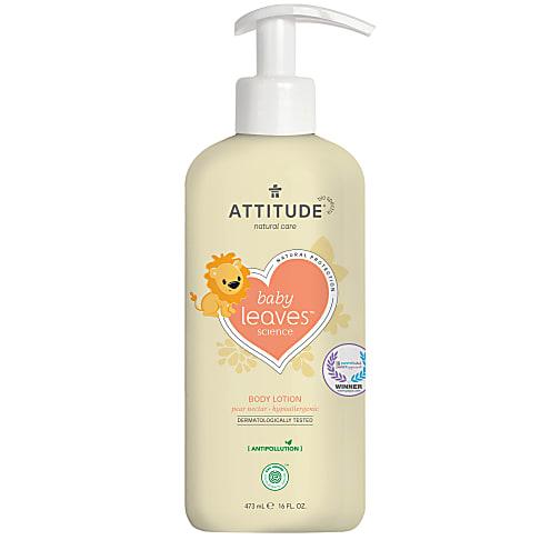 Attitude Baby Leaves Lait Corporel Naturel - Nectar de Poire