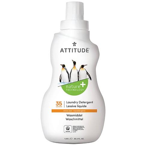Attitude Lessive Liquide Zeste d'Agrumes (35 lavages)