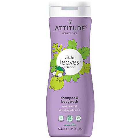 Attitude Little Leaves Shampoing et Gel Nettoyant - Poire & Vanille