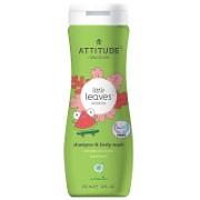 Attitude Little Leaves Shampoing et Gel Nettoyant - Coco et Melon d'eau